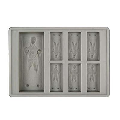 Star Wars Silicone Ice Tray Mold Ice Cube Tray Chocolate Pudding DIY Han Solo GL