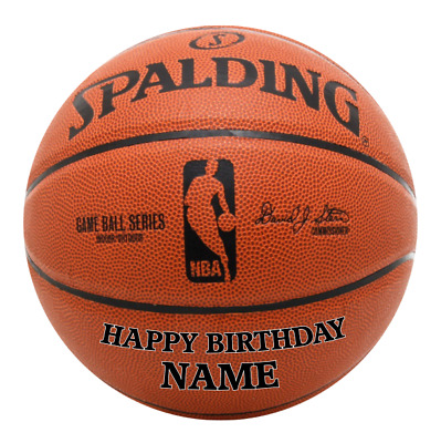 Basketball NBA Personalised Edible Birthday Party Cake Decoration Topper