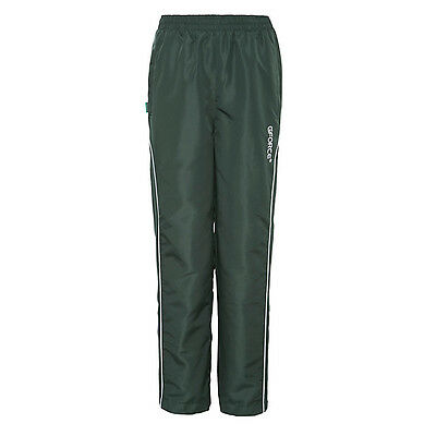 GFORCE green tracksuit bottoms Girls age 11-12 y - NEW, ex John Lewis RRP £26.00