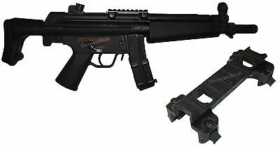 Rail airsoft paintball support scope / red dot / laser / lampe pour MP5 Neuf