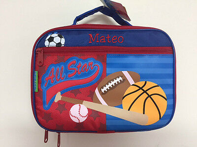 Personalized Stephen Joseph Sports Lunchbox