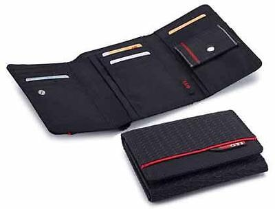 Brand New Genuine Volkswagen Fabric GTI Wallet - 5GB087400041