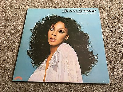 Donna Summer - Once Upon A Time - 1977 Double Lp Translucent Red Vinyl