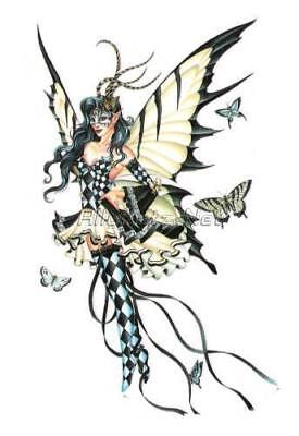 NEW Nene Thomas Symphony In Black And White Gothic Fairy Sticker Decal