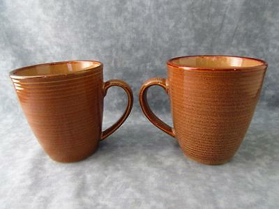 Set of 2 Roma Caramel 4815 by Sango Coffee Cup Mug B37