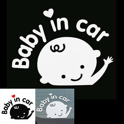 3D Waterproof Baby Boy Image In the Car DIY Your Own Personalized Car