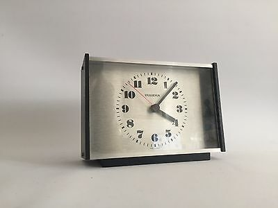 Dugena Germany Design Tischuhr 60er 70er Table Clock 70s 60s