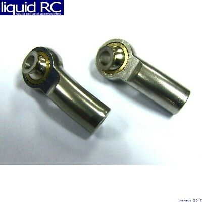 Hot Racing TRE330SA08 Stainless Steel Angle Tie Rod End