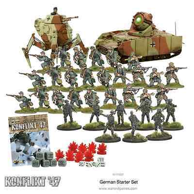 KONFLIKT47: 28mm; German Konflikt '47 Starter Set