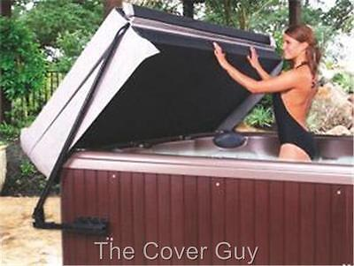 "Combo Deal The Cover Guy Deluxe 5"" tapered Hot Tub Cover plus Spa Cover Lifter"
