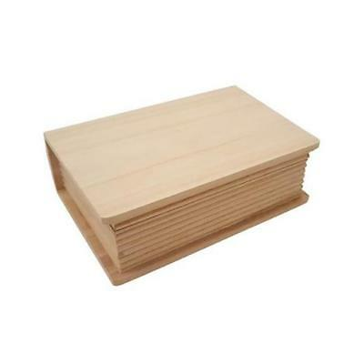 Bare Wood Book Box 14x20x7cm #8433
