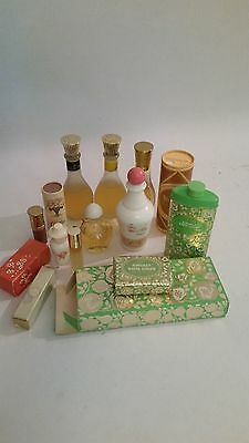 Vintage AVON Collection Perfume, Powder, Soap Lot of 10