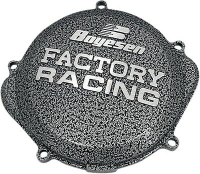 Boyesen Clutch Right Side Case Cover Suzuki RM250 RM 250 96-08 Silver/Black CC22