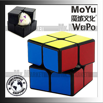 Moyu WeiPo Cube 2 layers Black | Authentic MoYu Top Quality Magic Cube