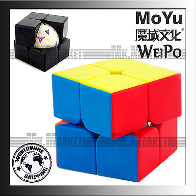 Moyu WeiPo Cube 2 layers Stickerless | Authentic MoYu Top Quality Magic Cube