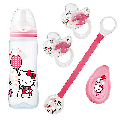 Lot biberons et sucettes Hello Kitty - TIGEX
