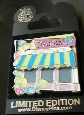 DISNEYLAND 55th ANNIVERSARY CAST EXCLUSIVE CANDY PALACE PIN dlr goofy`s home.