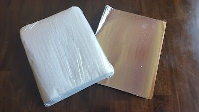 BULK 2500ct Foil-backed Deli Sandwich Wraps for Concession Use - FREE SHIPPING!