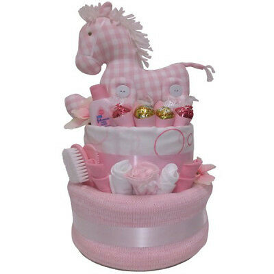 Nappy Cake New Born Baby Girl My Little Pony Gift