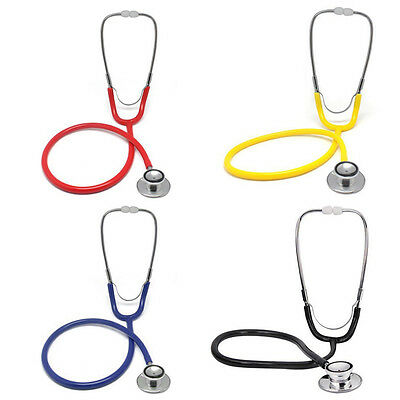 Nurse Doctor Double Dual Head Stethoscope First Aid Training Medical Home New BG