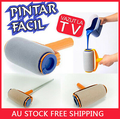 Paint Roller Painting Runner Decor Professional Pintar Facil As Seen On TV