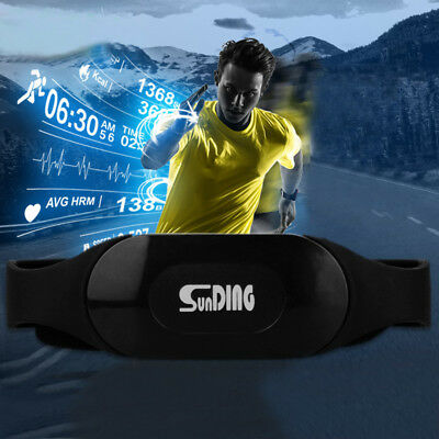 Waterproof Bluetooth Chest BELT Strap Band Wireless Sports Heart Rate Monitor