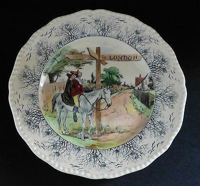 ROYAL DOULTON Seriesware Cabinet Plate - The Spectators Return to Town