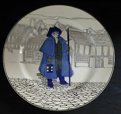 ROYAL DOULTON Night Watchman Cabinet Plate D4746