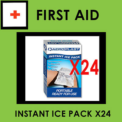 Instant Ice Packs for Sport  x24 (16 x 9cm) 80g  Special  squeeze,shake -cold.