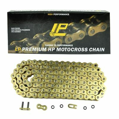 122L Gold 530 Pitch Gold O-ring Motorcycle Drive Chain For Honda Yamaha 530HV