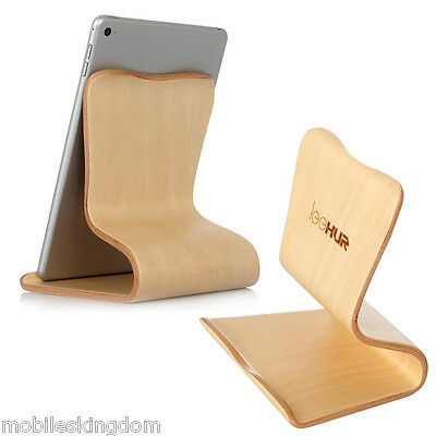 Universel Support en Bois Pour Tablette PC iPad Mini iPad Air 2 Google Nexus Tab