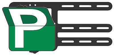 Green Provisional P Plates Victoria & WA - Clip Plate for the Learner Drivers