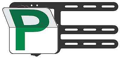 Green Provisional P Plates - Clip Plate for the Learner Drivers