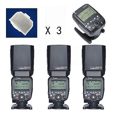 YONGNUO YN600EX-RT Flash Speedlite + YN-E3-RT Controller for Canon