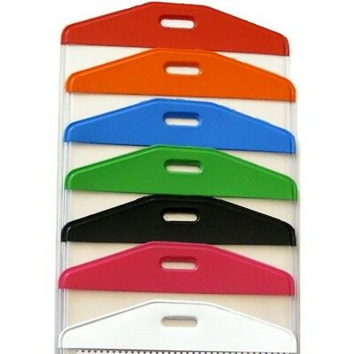 Cruise Luggage Tag Holders- ColourTop - clear loop - set of 4 Cruise BagTags