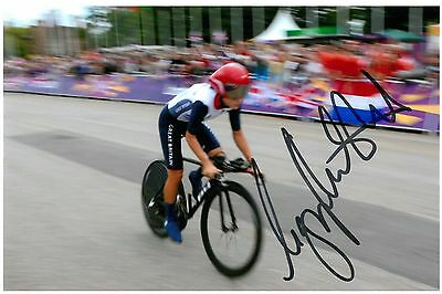 Lizzie Armitstead Signed 6x4 Photo Road Race Cyclist Olympic Autograph Olympic Memorabilia Coa Cheapest Price From Our Site London 2012