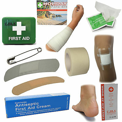 CMS Medical M1 Holiday Home Travel Trip Compact Handy Essential First Aid Kit
