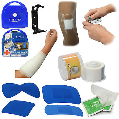 CMS Medical M2 Kitchens Burns Blue Catering Medium Chef Essential First Aid Kit