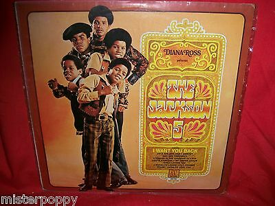 JACKSON FIVE Diana Ross presents LP SINGAPORE 1969 MINT- First Pressing