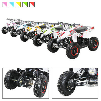 Elektro Quad Miniquad Kinder Fox XTR 1000 Watt Pocketquad Kinderquad Pocketbike