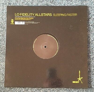 "Lo Fidelity All Stars Sleeping Faster 12"" Single Ex/Ex"