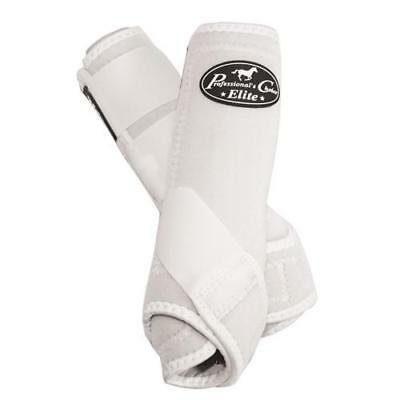 Professionals Choice VenTECH Elite SMB Boots - White - Large - Fronts - 2 Pack