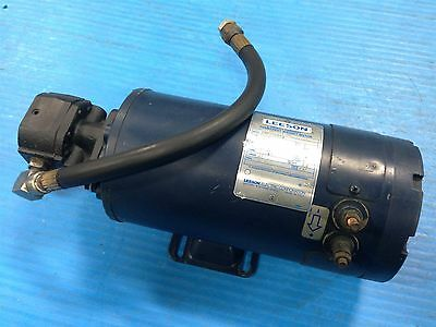 USED LEESON C4D34DB5A DC MOTOR 2HP 3000 RPM FRAME ZS56Y 36v 108131.00 (28G)