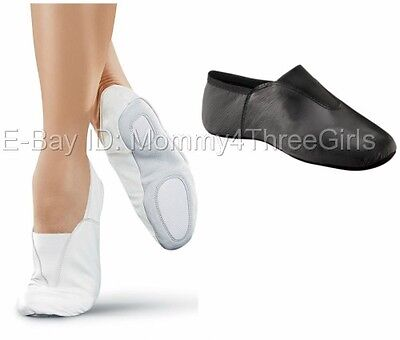 NEW Capezio or Balera White Black Agility Gymnastics Trampoline Shoes