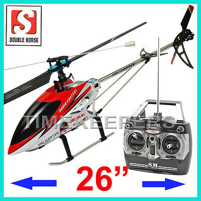 9104 Single Rotor 3 Channel RC Radio Remote Control Gyro Metal Helicopter EP RTF