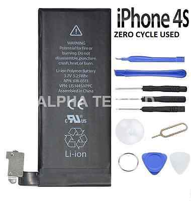 NEW High Capacity Genuine Replacement Apple iPhone 4S Internal Battery 1430mAh