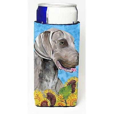 Carolines Treasures Weimaraner Michelob Ultra bottle sleeves For Slim Cans