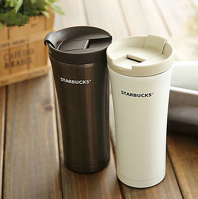 Stainless Steel Double layers Vacuum Thermos Coffee Travel Mug New