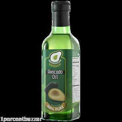 Storinos Avocado Oil Ahuacatlan Avocado – Natural (100% Pure ) - 1 Litre x 2