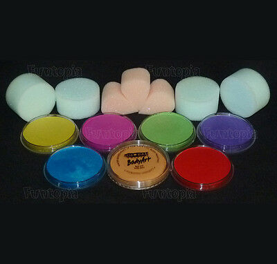 Funtopia's Global Pearls Face Paint Kit 7 - costume Party Halloween Cosplay